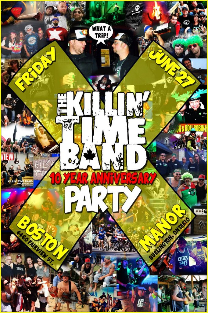 Killin' Time Band 10th Anniversary Party!